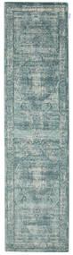 Jacinda - Lys Teppe 80X300 Moderne Teppeløpere Lys Grå/Turkis Blå/Mørk Grå ( Tyrkia)