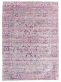 Maharani - Grå/Pink Teppe 200X300 Moderne Lyserosa/Lys Grå ( Tyrkia)