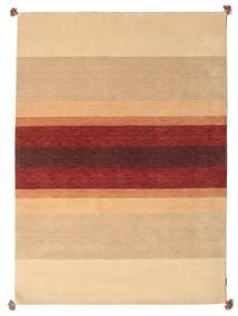 Loribaf Loom Teppe 173X241 Ekte Moderne Håndknyttet Mørk Beige/Lysbrun/Mørk Rød (Ull, India)