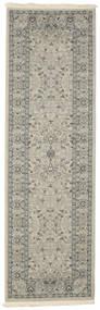 Ziegler Michigan - Grønn/Beige Teppe 80X250 Orientalsk Teppeløpere Lys Grå/Hvit/Creme ( Tyrkia)