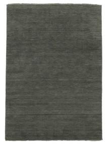 Handloom Fringes - Mørk Grå Teppe 300X400 Moderne Mørk Grå Stort (Ull, India)