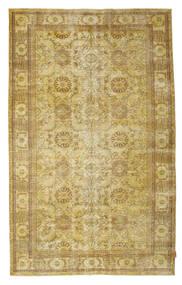 Colored Vintage Teppe 189X305 Ekte Moderne Håndknyttet Gul/Olivengrønn (Ull, Tyrkia)