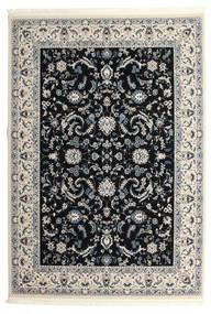 Nain Florentine - Mørk Blå Teppe 300X400 Orientalsk Lys Grå/Beige/Svart Stort ( Tyrkia)