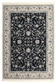 Nain Florentine - Mørk Blå Teppe 250X350 Orientalsk Svart/Lys Grå Stort ( Tyrkia)