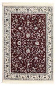 Nain Florentine - Mørk Rød Teppe 120X180 Orientalsk Beige/Lys Grå/Mørk Brun ( Tyrkia)