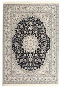 Nain Emilia - Mørk Blå Teppe 300X400 Orientalsk Lys Grå/Beige Stort ( Tyrkia)