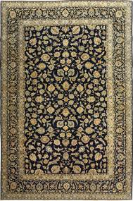Keshan Patina Teppe 255X385 Ekte Orientalsk Håndknyttet Svart/Lysbrun Stort (Ull, Persia/Iran)