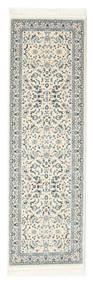 Nain Florentine - Cream Teppe 80X300 Orientalsk Teppeløpere Lys Grå/Beige ( Tyrkia)