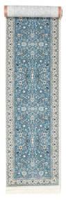 Nain Florentine - Lys Blå Teppe 80X350 Orientalsk Teppeløpere Lys Grå/Lys Blå ( Tyrkia)
