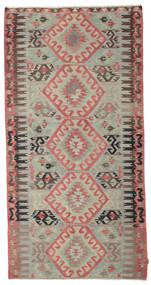 Kelim Halvt Antikke Tyrkiske Teppe 165X320 Ekte Orientalsk Håndvevd Teppeløpere Lys Grå/Lysbrun (Ull, Tyrkia)
