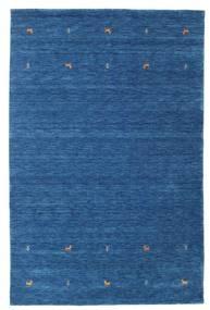 Gabbeh Loom Two Lines - Blå Teppe 190X290 Moderne Mørk Blå/Blå (Ull, India)