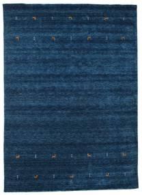 Gabbeh Loom Two Lines - Mørk Blå Teppe 240X340 Moderne Mørk Blå (Ull, India)