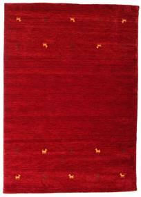 Gabbeh Loom Two Lines - Rød Teppe 160X230 Moderne Rød/Mørk Rød (Ull, India)