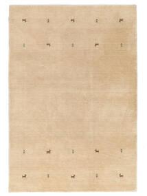 Gabbeh Loom Two Lines - Beige Teppe 160X230 Moderne Mørk Beige/Lysbrun (Ull, India)