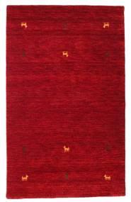 Gabbeh Loom Two Lines - Rød Teppe 100X160 Moderne Rød/Mørk Rød (Ull, India)