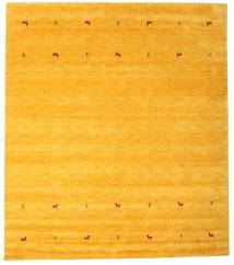 Gabbeh Loom Two Lines - Gul Teppe 240X290 Moderne Gul/Orange (Ull, India)