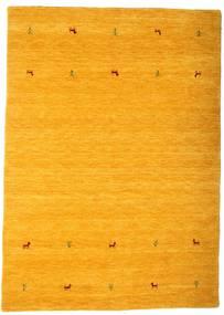 Gabbeh Loom Two Lines - Gul Teppe 160X230 Moderne Orange/Lysbrun (Ull, India)