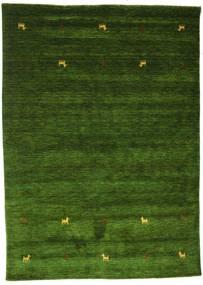 Gabbeh Loom Two Lines - Grønn Teppe 160X230 Moderne Mørk Grønn (Ull, India)