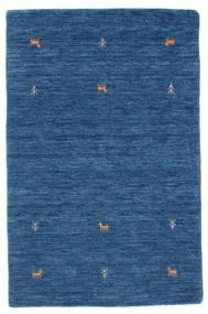 Gabbeh Loom Two Lines - Blå Teppe 100X160 Moderne Mørk Blå/Blå (Ull, India)