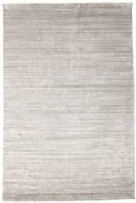 Bamboo Silke Loom - Warm Grå Teppe 200X300 Moderne Lys Grå ( India)