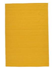 Kelim Loom - Gul Teppe 160X230 Ekte Moderne Håndvevd Orange (Ull, India)