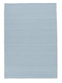 Kelim Loom - Lys Blå Teppe 160X230 Ekte Moderne Håndvevd Lys Blå (Ull, India)