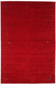 Gabbeh Loom Frame - Rød Teppe 190X290 Moderne Rød/Mørk Rød (Ull, India)