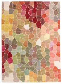 Play Of Colours Teppe 140X200 Moderne Mørk Beige/Mørk Brun ( Tyrkia)