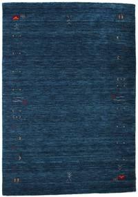 Gabbeh Loom Frame - Mørk Blå Teppe 140X200 Moderne Mørk Blå (Ull, India)