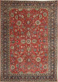 Sarough Patina Teppe 236X347 Ekte Orientalsk Håndknyttet Mørk Rød/Mørk Grå (Ull, Persia/Iran)