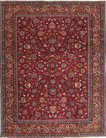 Mashad Patina Teppe 240X325 Ekte Orientalsk Håndknyttet Mørk Rød/Mørk Grå (Ull, Persia/Iran)