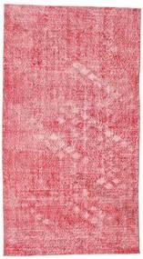 Colored Vintage Teppe 152X278 Ekte Moderne Håndknyttet Rosa/Lyserosa (Ull, Tyrkia)