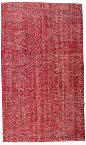 Colored Vintage Teppe 165X279 Ekte Moderne Håndknyttet Rød/Rust (Ull, Tyrkia)