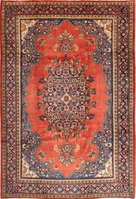 Wiss Teppe 217X330 Ekte Orientalsk Håndknyttet Mørk Rød/Rust (Ull, Persia/Iran)