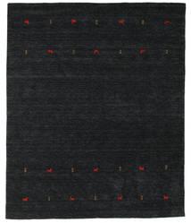 Gabbeh Loom Two Lines - Svart/Grå Teppe 240X290 Moderne Svart (Ull, India)