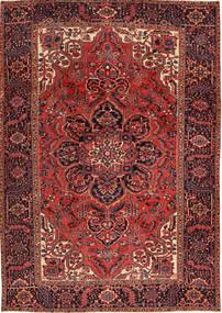 Heriz Teppe 231X333 Ekte Orientalsk Håndknyttet Mørk Rød/Mørk Brun (Ull, Persia/Iran)