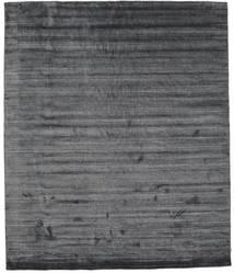 Bamboo Silke Loom - Charcoal Teppe 250X300 Moderne Mørk Grå/Lilla Stort ( India)