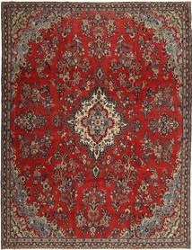 Hamadan Patina Teppe 252X335 Ekte Orientalsk Håndknyttet Mørk Rød/Rust Stort (Ull, Persia/Iran)