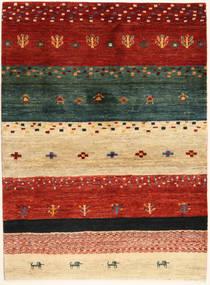 Loribaft Persia Teppe 102X140 Ekte Moderne Håndknyttet Rød/Mørk Grønn (Ull, Persia/Iran)
