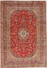 Keshan Teppe 243X355 Ekte Orientalsk Håndknyttet Rust/Mørk Rød (Ull, Persia/Iran)