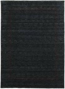 Handloom Gabba - Svart/Grå Teppe 210X290 Moderne Svart (Ull, India)