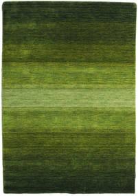 Gabbeh Rainbow - Grønn Teppe 140X200 Moderne Mørk Grønn/Olivengrønn (Ull, India)