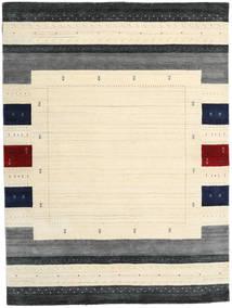 Loribaf Loom Designer Teppe 210X290 Moderne Beige/Mørk Grå (Ull, India)