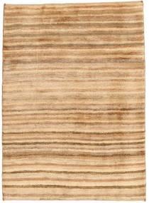 Gabbeh Persia Teppe 101X136 Ekte Moderne Håndknyttet Mørk Beige/Lysbrun (Ull, Persia/Iran)