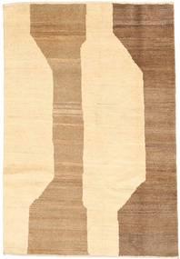 Gabbeh Persia Teppe 98X140 Ekte Moderne Håndknyttet Beige/Mørk Beige (Ull, Persia/Iran)