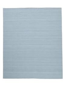 Kelim Loom - Lys Blå Teppe 250X300 Ekte Moderne Håndvevd Lys Blå Stort (Ull, India)