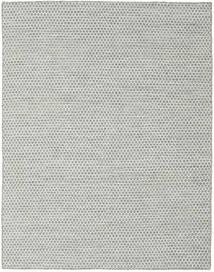 Kelim Honey Comb - Grå Teppe 190X240 Ekte Moderne Håndvevd Lys Grå/Turkis Blå (Ull, India)