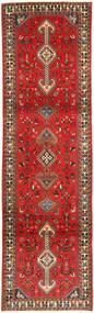 Ghashghai Teppe 80X290 Ekte Orientalsk Håndknyttet Teppeløpere Mørk Brun/Rust (Ull, Persia/Iran)