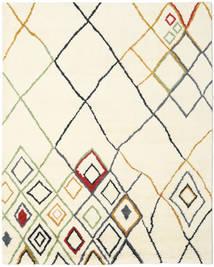 Berber Indisk - Off-Vit/Multi Teppe 240X300 Ekte Moderne Håndknyttet Beige/Hvit/Creme (Ull, India)