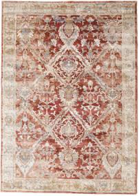 Talitha - Rusty Rød Teppe 160X230 Moderne Mørk Brun/Lys Grå ( Tyrkia)